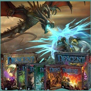 Descent 2nd Edition Expansions Bundle