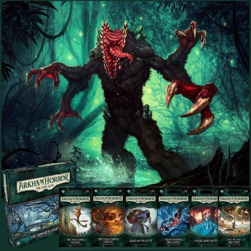 Arkham Horror LCG: Dunwich Legacy Complete Campaign Bundle