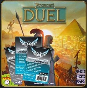 7 Wonders Duel sleeve pack