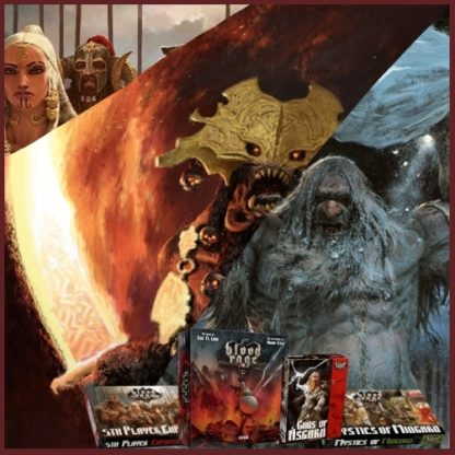 Blood Rage Complete Collection Bundle