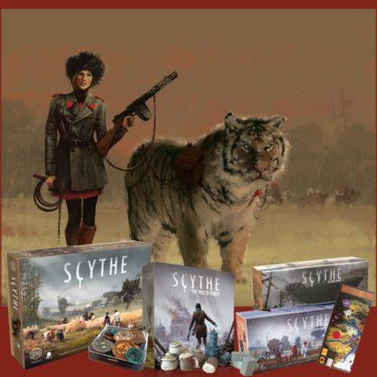 Scythe Complete Collection + Accessoires Bundle