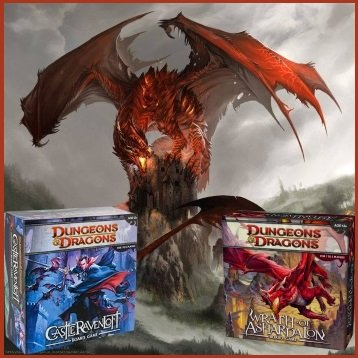 D&D Castle Ravenloft + Wrath of Ashardalon Bundle