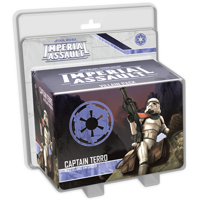 Star Wars Imperial Assault: Captain Terro