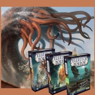 Eldritch Horror Expansion Bundle (Cities in Ruin + Strange Remants + Signs of Carcosa)