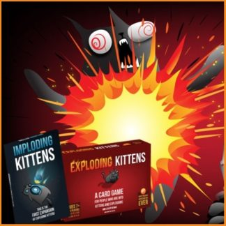 Exploding Kittens + Imploding Kittens Bundle