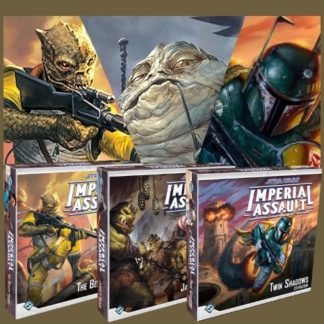 Imperial Assault: Jabba's Realm + Twin Shadows + Bespin Gambit Bundle
