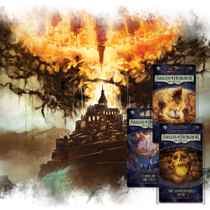Arkham Horror LCG: The Path to Carcosa Mythos Pack Bundle