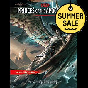 D&D 5.0 Elemental Evil – Princes of the Apocalypse TRPG