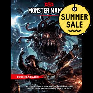 D&D 5.0 Monster Manual TRPG