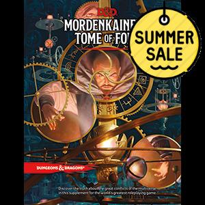 D&D 5.0 Mordekainen's Tome of Foes TRPG