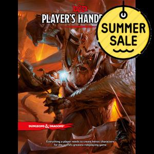 D&D 5.0 Players Handbook TRPG