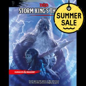 D&D 5.0 Storm King's Thunder TRPG