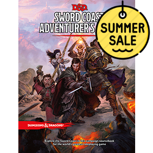 D&D 5.0 Sword Coast Adventurers Guide TRPG