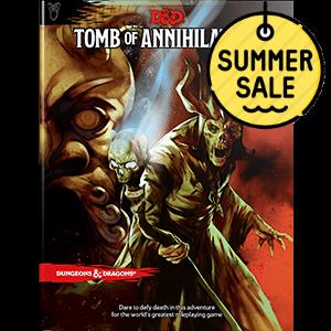 D&D 5.0 Tomb of Annihilation TRPG