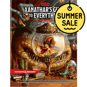 D&D 5.0 Xanathar's Guide to Everything TRPG