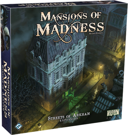 Mansions of Madness Streets of Arkham + Beyond the Threshold Bundle