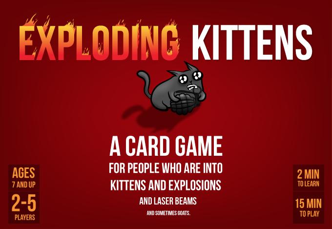 Exploding Kittens + Imploding Kittens Bundle