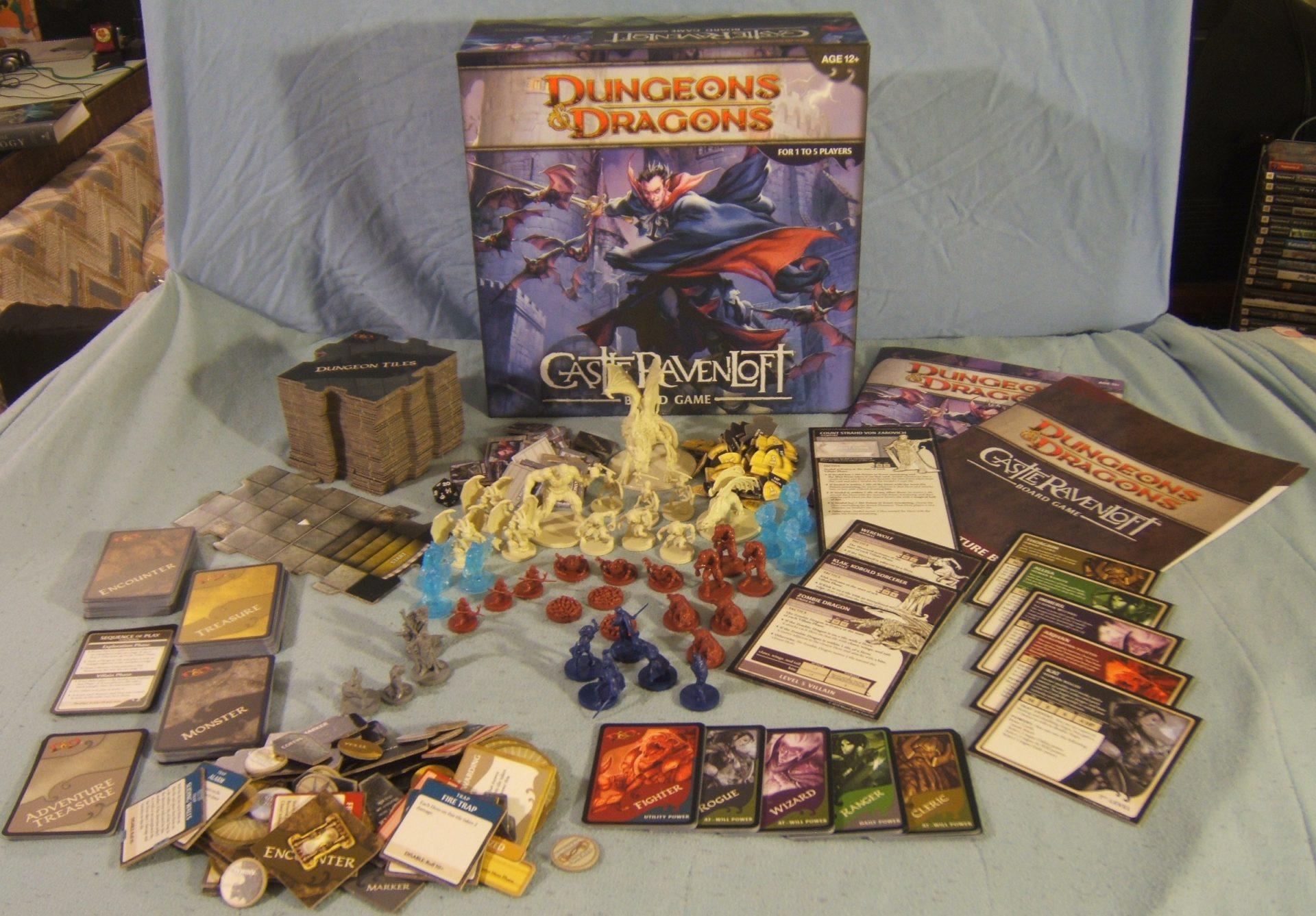 D&D Castle Ravenloft + Legend of Drizzt Bundle