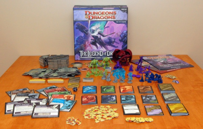 D&D Castle Ravenloft + Legend of Drizzt Bundle