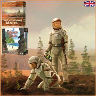 Bestseller Bundle EN (Terraforming Mars EN + Robinson Crusoe)