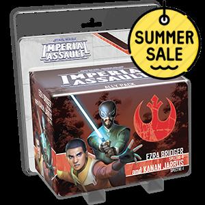 Star Wars Imperial Assault Ezra Bridger and Kanan Jarrus