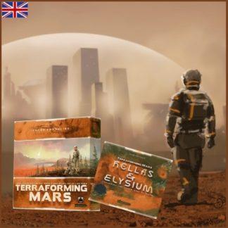 Terraforming Mars (EN) + Hellas & Elysium (EN) Bundle