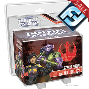 Star Wars Imperial Assault: Sabine Wren and Zeb Orrelios