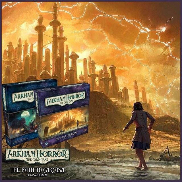Arkham Horror Card Game + The Path to Carcosa Bundle