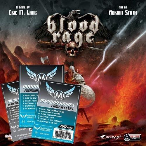 Blood Rage Sleeve Pack