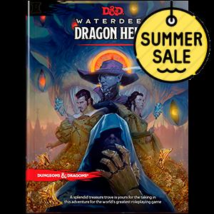 D&D 5.0 Waterdeep Dragon Heist TRPG