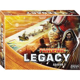 Pandemic Legacy Season 2 Yellow Edition