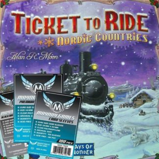 ticket to ride nordic sleeve pack