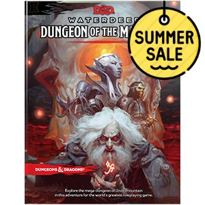 D&D 5.0 Waterdeep Dungeon of the Mad Mage TRPG