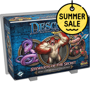 Descent 2nd Edition Hero and Monster Collection – Stewards of the Secret