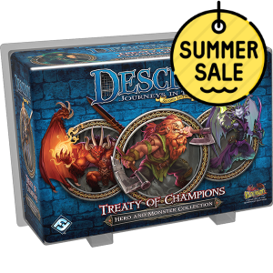 Descent 2nd Edition Hero and Monster Collection – Treaty of Champions