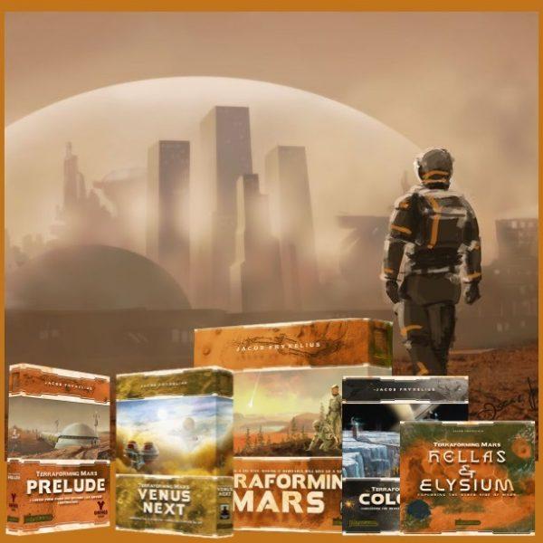 Terraforming Mars Complete Collection Bundle
