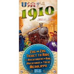 Ticket to Ride 1910 USA