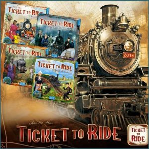 Ticket to Ride Expansions Bundle
