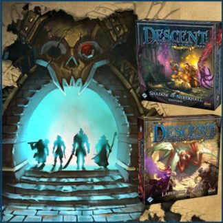 Descent 2nd Ed. Labyrinth of Ruin + Shadow of Nerekhall Bundle