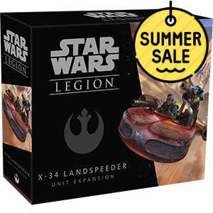 Star Wars Legion X-34 Landspeeder