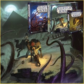 Eldritch Horror + Under the Pyramids + Forsaken Lore Bundle