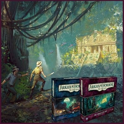 Arkham Horror The Card Game + The Forgotten Age Bundle