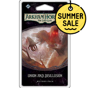 Arkham Horror LCG Union and Disillusion Mythos Pack