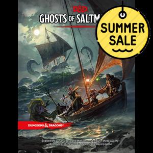 D&D 5.0 Ghosts of Saltmarsh TRPG