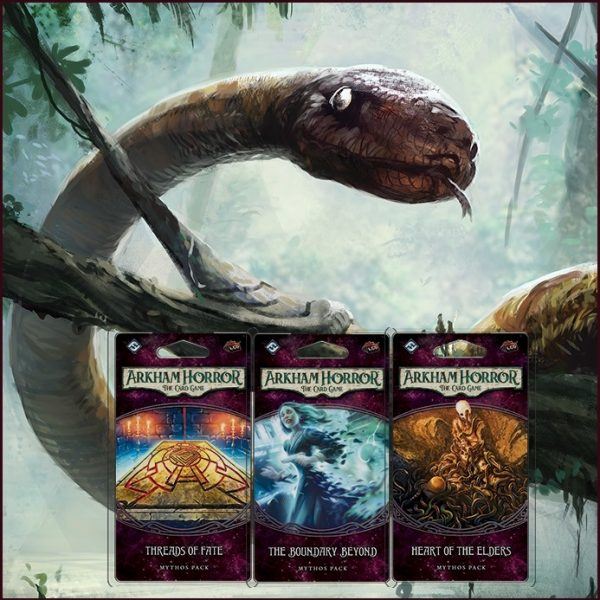 Arkham Horror LCG Forgotten Age Mythos Packs Bundle