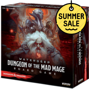D&D Waterdeep Dungeon of the Mad Mage Boardgame