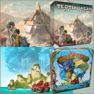 Bestseller Bundle (Teotihuacan: City of Gods + Spirit Island)