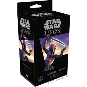 Star Wars Legion: Sabine Wren Operative Expansion