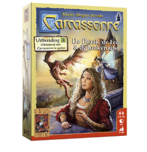 Carcassonne De Draak, de Fee en de Jonkvrouw