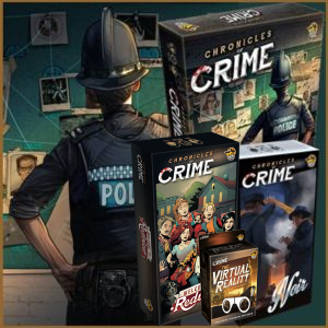 Chronicles of Crime Collection Bundle + Glasses